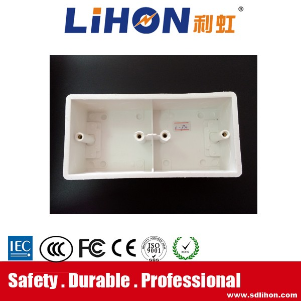 China Manufacturer network wall Face Plate Back Box