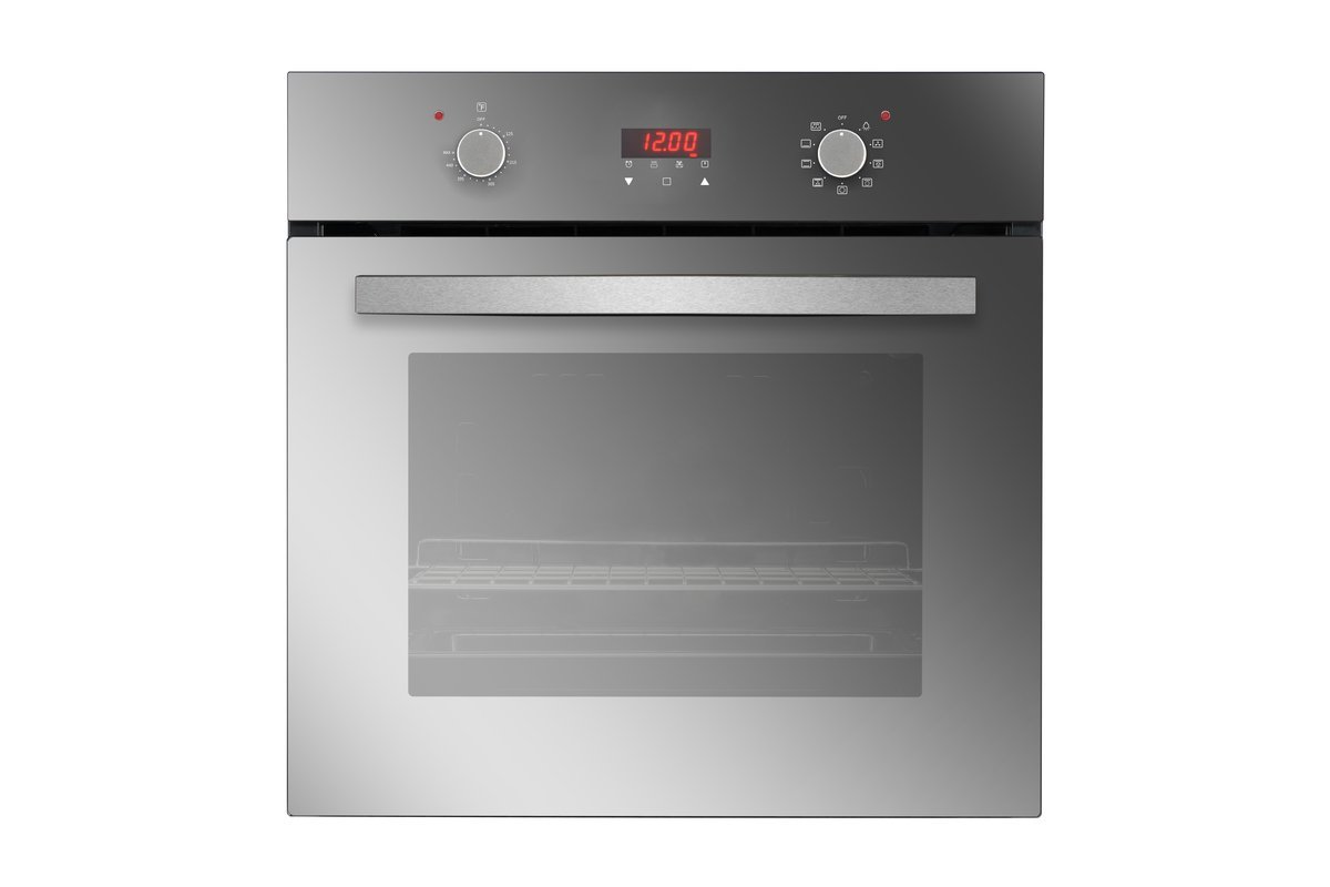 """Empava 24"""" Tempered Glass Electric Push Buttons Control with Digital Display Built-In Single Wall Oven EMPV-24WOB17"""