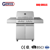 Stainless steel 6 burners outdoor wholesale gas grills