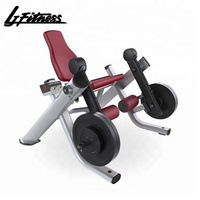 China wholesale indoor leg extension gym fitness sports equipment