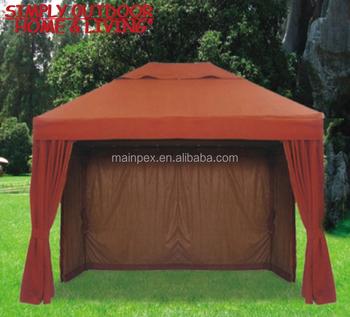 Chinois De Haute Qualité En Plein Air Patio Pop Up En Métal De Luxe De  Jardin Gazebo Tente Auvent Pavillon Avec Moustiquaire - Buy Pavillon De  Tente ...