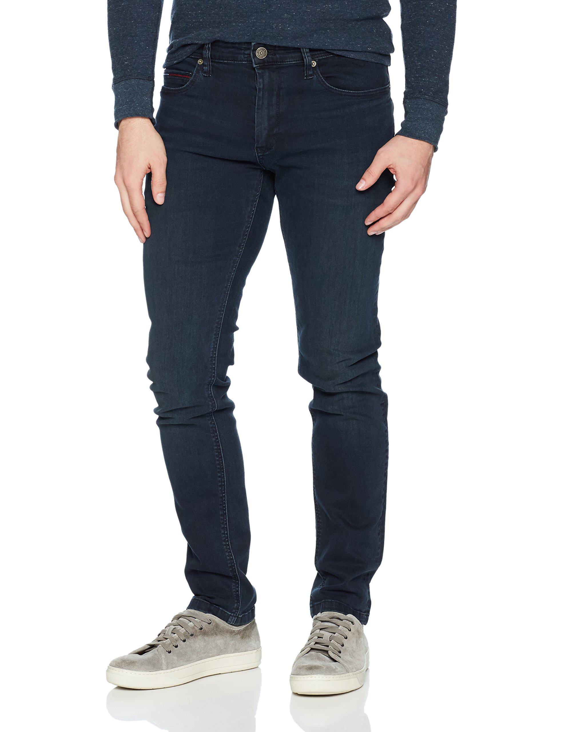 19043df9c Get Quotations · Tommy Hilfiger Men's Original Steve Slim Athletic Fit Jeans