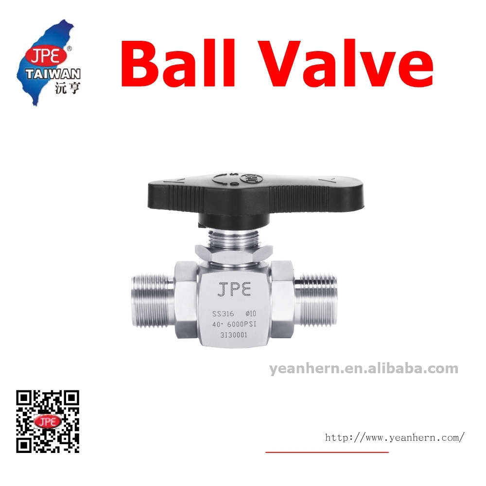 Professional Production and Sales Vendors 1/2'' Type Male PT Thread 2 Way Ball Valve