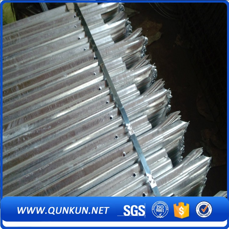China Supplier Security Steel Metal Fence/Heavy Duty Galvanized Palisade Fencing