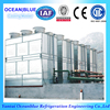 refrigerator water cooled condenser with galvanizing coil