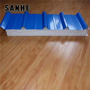 styrofoam roof sandwich panels/Fireproof rock wool board/roof sandwich panel