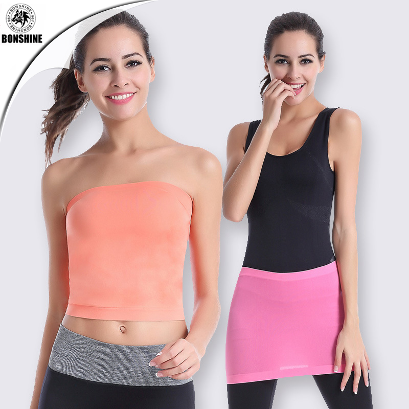 Quick - drying multi - functional to prevent embarrassment yoga sports wrapped chest neck wrapped skirt WA13 фото