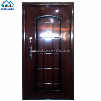 Cheap Steel Flat Exterior Front Safety Door Design Buy Front Safety