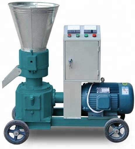 Residential door delivery mini pellet machine <strong>chicken</strong> manure goat feed pellet machine