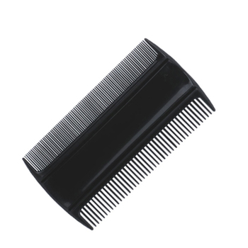 Wholesale Common Plastic Hair Comb Double Side Head Nit Lice Comb