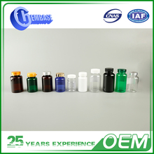 Factory Directly Supply Stable Quality Glass Pill Bottles