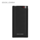 2018 hot dual USD ports 10000 mah powerbank, rubber coating shell mobile power supply with flashlight and digital display