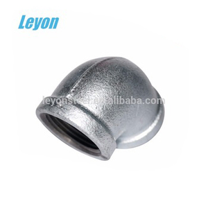 Fire Fighting price list Pipe Fitting banded Elbow galvanized 90 D