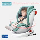 Hot Mom 360 Rotation Saftey Car Seat Forward Installation Rearward Installation From 0-12 Years