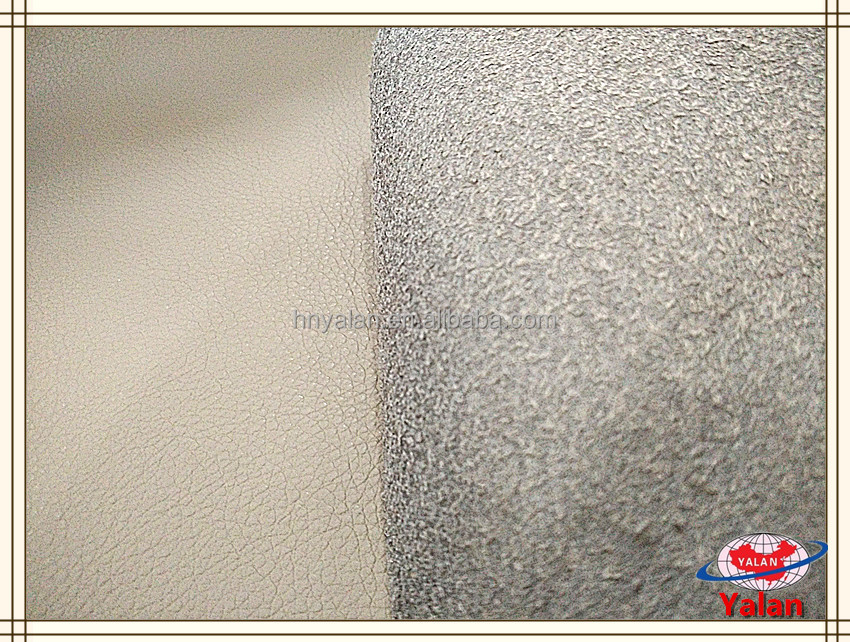 Classical DE90 pattern microfibre sofa fabric/sofa synthetic pu leather with micro backing