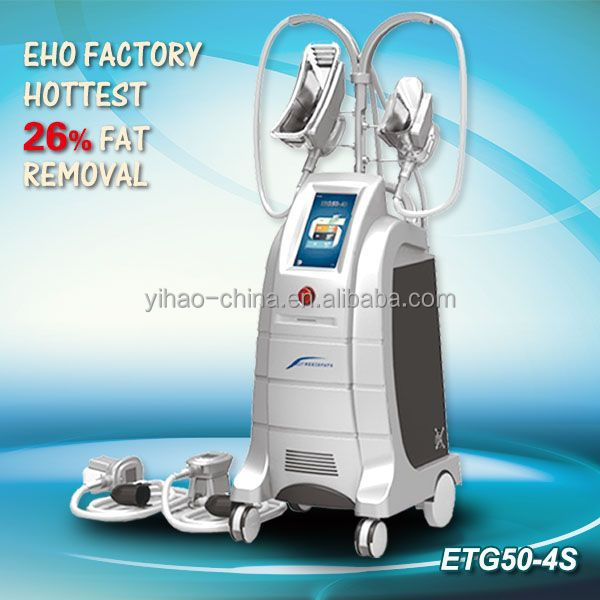ETG50-4S cold therapy cryolipolysis fat freezing machine for fat reduction