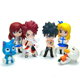 Hot sell lovely resin cartoon family doll figures,anime fairy tail Doll 1/6 Action Figure Figurine