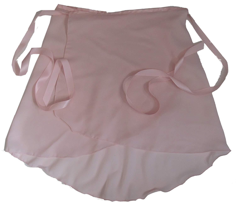 GOGO TEAM Child /& Adult Sheer Wrap Skirt Ballet Skirt Ballet Dance Dancewear-Pink-CHILD