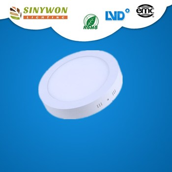 Sinywon Best selling good quality ce rohs square and round18w led surface mounted downlight