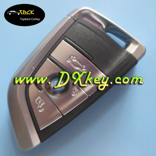 Topbest Hot sale Product car remote key for B-MW 3 buttons remote key with 433mhz for new 2014 year X5 CAR car keys