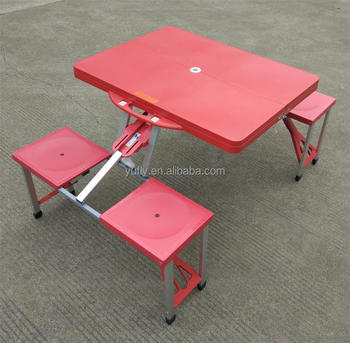 Table And Seat Sets Abs Pp Plastic Garden Bbq Picnic Camping Folding ...