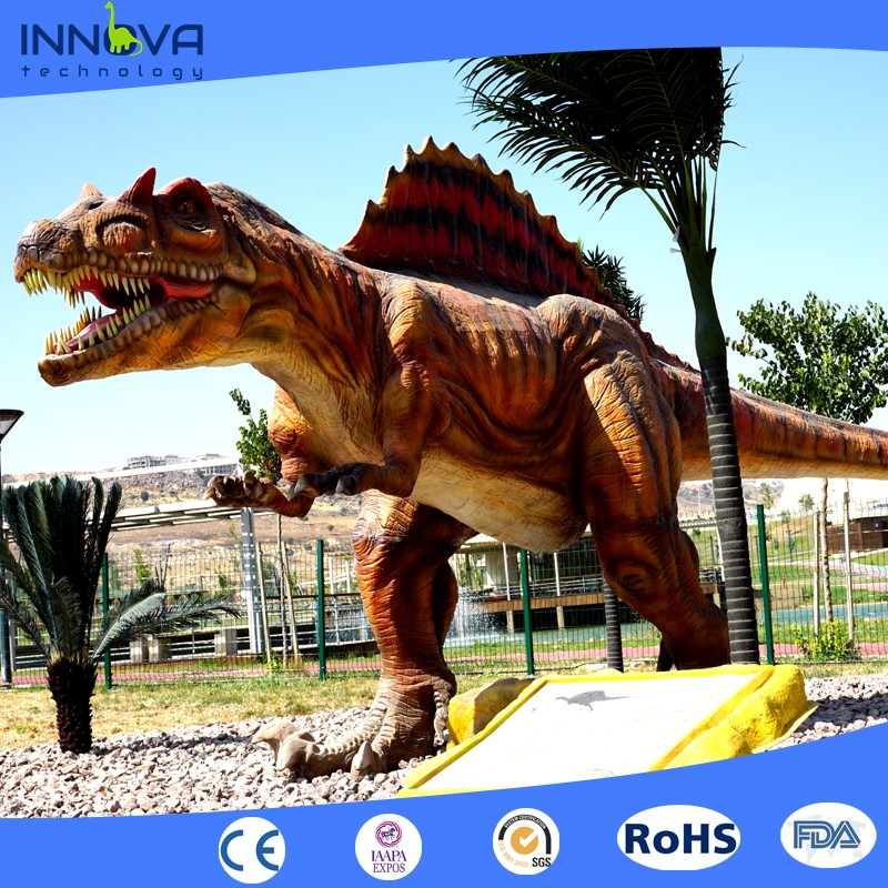 Innova- realistic dinosaur amusement park decoration models large t rex sculpture