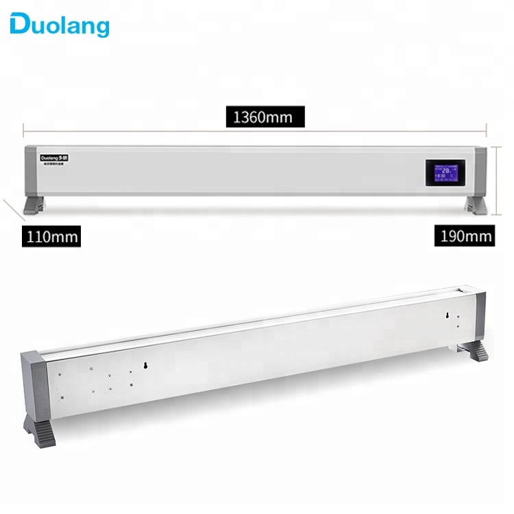 Kitchen And Bathroom Series Automatic Electric Convection Baseboard Heater For Homesbathroomsyoga Rooms Buy Waterproof Electric Baseboard