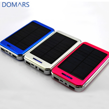 Hot Sale 10000 미리암페르하우어 Battery Power Bank 시간 보안 Mobile Power Supply Solar Power Bank