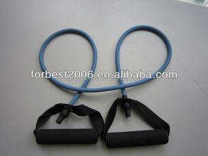 Rubber fitness latex tube for Yoga exercise,Latex exercise tube