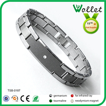 2014 new products Shenzhen Best Seller tungsten and steel bluetooth low energy bracelet