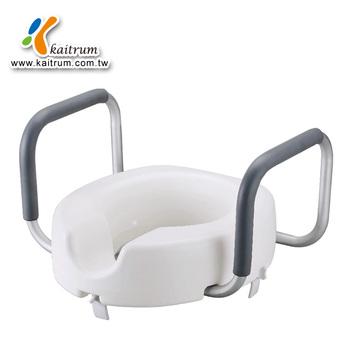 For Elderly Bathroom Raised Toilet Seat With Handles Raised Toilet ...