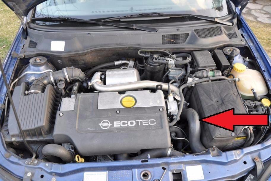 Vauxhall//Opel ASTRA G ZAFIRA A 2.0 DTI INTERCOOLER PIPE TURBO AIR TUYAU 24405584