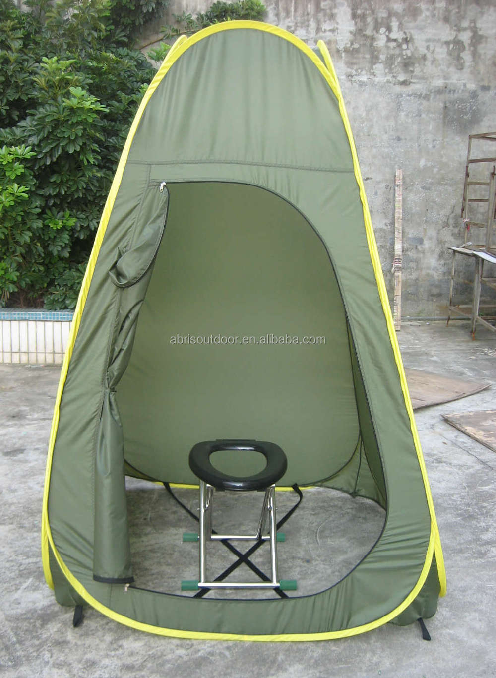 One minute easy up tent c&ing outdoor privacy room portable shower tent & One minute easy up tent camping outdoor privacy room portable ...