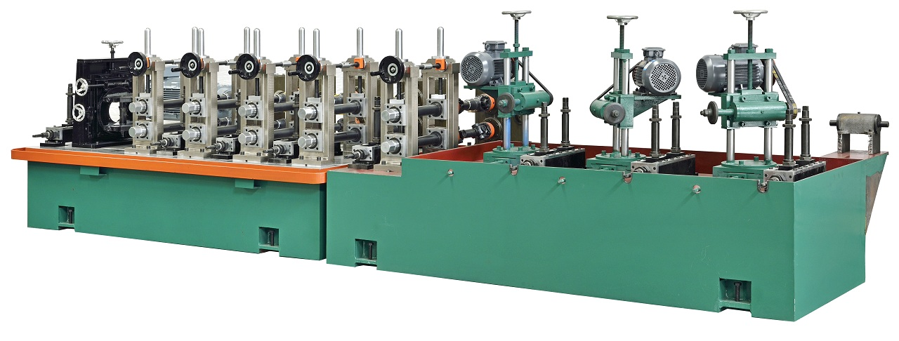 Jopar Manufacturer Stainless Steel Pipe Making Machine / SS Tube Mill Sold To Hisar City In India