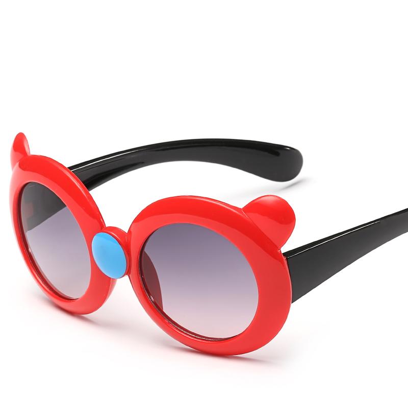 Neue Koreanische Mode kinder Sonnenbrille UV-Proof Cartoon Tragen ...