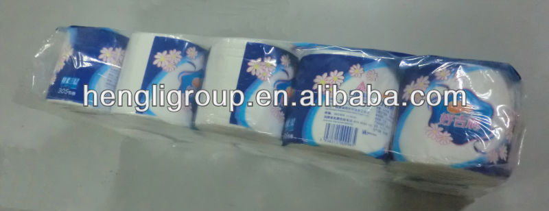 Hodorine disposal high quality individual packing toilet tissue from Fujian Hengli Group