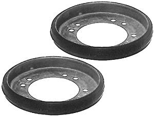Oregon (2 Pack) 76-067-0 Snow Thrower Drive Disc Outer Diameter Of 6-Inch Inner Diameter Of 5-3/8-Inch by Snapper