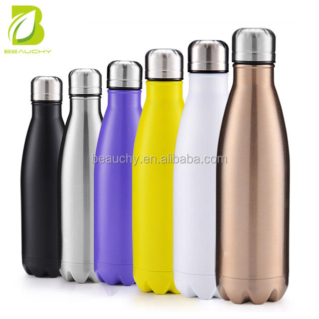 2018 wholesale 17 oz double wall stainless steel filtered water <strong>bottles</strong> for hot water drinking
