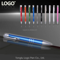 New luxury gift personalized metal pens promotional metal ball pens with custom logo