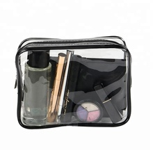 Reise transparente pvc wc kosmetik tasche klaren make up pouch