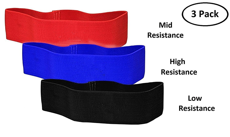Professional Athletics Mini Glute Activator Strength Resistance Warm Up Exercise Hip Circle Balance Rotation Band Loop