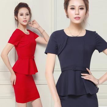 Traje formal mujer vestido