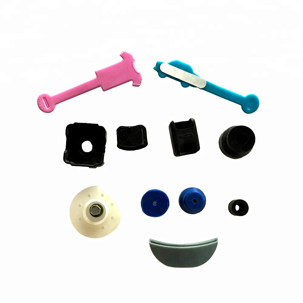 custom silicone rubber parts made of safe silicone, FDA food medical grade
