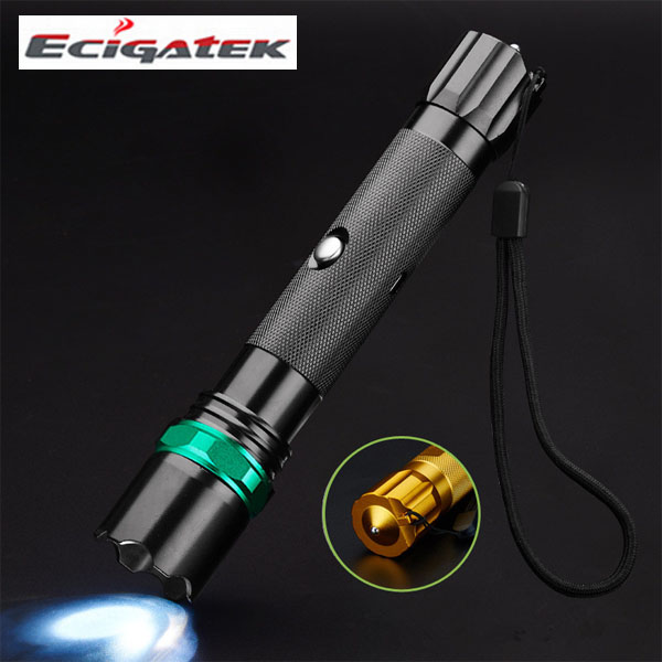 outdoor Wild camping rechargeable Multifunction electic Plasma Arc lighter with highlight flashlight and safety hammer