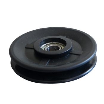 Plastic Material spare parts pulley for cable, cable pulley