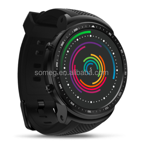 Zeblaze Thor PRO 3G GPS WIFI Smart watch Android 5.1 MTK6580 Quad Core 1GB 16GB 2.0 MP Camera Heart Rate Monitor Smart Watch