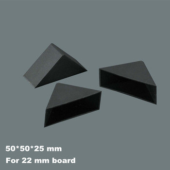 Black Decorative Kitchen Cabinet Plastic Corner Protector