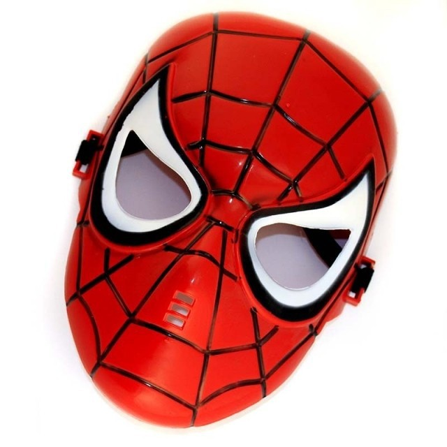 Buy Animation cartoon character red spider man mask