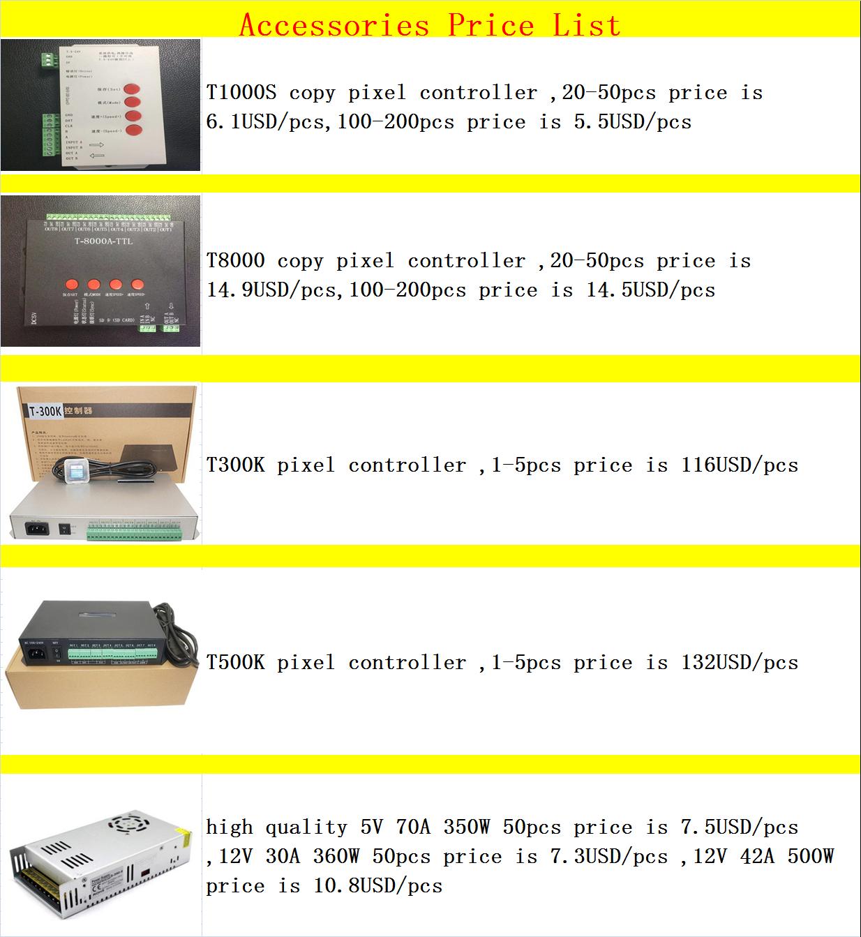 large wholesale led pixel 2811 12mm 5v 12v full colors with factory bottom price