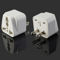 American 2 flat pin Universal Travel Plug Adapter